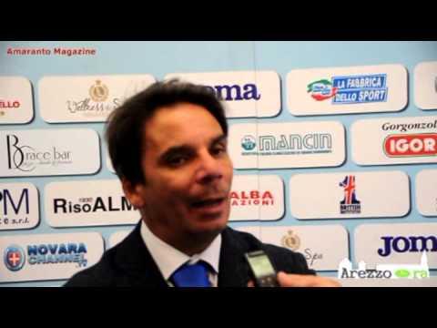Novara-Arezzo 1-0, Capuano contesta l'arbitro