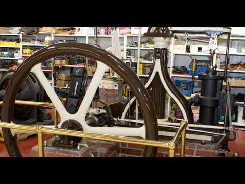 steam - Designed and built in England in 1832, this steam engine originally ran a dye factory. Subscribe NOW to Jay Leno's Garage: http://full.sc/JD4OF8 Check out th...