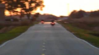 9. Kawasaki Vulcan 2000 classic and a Suzuki M109R doin another high speed run