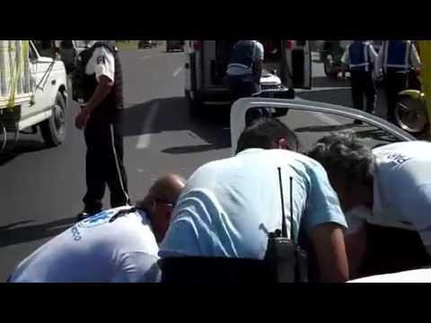 Choque y lesionados en Carretera a Chapala