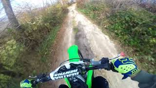 8. FIRST RIDE-NEW BIKE-KAWASAKI KX250F 2018