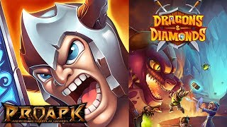 Dragons & Diamonds by Kiloo (ANDROID/iOS/iphone/ipad)►►► SUBSCRIBE PROAPK FOR MORE GAMES : http://goo.gl/dlfmS0 ◄◄◄There's just one thing keeping you from treasure and riches beyond your wildest dreams: an infestation of deadly dragons.But these aren't just any old fire breathing dragons, oh no. Each one you encounter is more challenging than the last, wielding fiery, fearsome powers that no-one could tackle alone.Build the best team of hunters:To get your hands on that precious treasure, you're going to need a helping hand. The dragons have captured a host of brave, adventurous (or just plain greedy) bounty hunters and only you can rescue them. Build your team to rid the world of these terrible dragons, get in and grab the treasure before it's too late. Use your best strategy to win invaluable chests:A team can only be as good as its battle plan. Your challenge is to find the best match of diamonds to defeat the dragons and the minion beasts who serve them - choose the right hunters for your quest, equip them with powerful items and face the vicious dragons on the battlefield.Discover a lost world:Enter the fantasy world of Dragons & Diamonds to journey on a puzzling adventure. Travel from dusty wastelands, across volcanic passes and frozen peaks while you explore a lost world filled with dangerous dungeons, treasure beyond imagination and vicious beasts waiting around every corner.Play Dragons & Diamonds now:- Enjoy the challenge of this epic, free-to-play fantasy RPG- Defeat dragons by matching chains of diamonds for maximum damage- Match 3 or more diamonds of the same colour to damage enemies or heal your team- Choose the best combination of hunters for each battle- Collect loot to upgrade your party and make it even stronger- Save land after land from the dragon infestation as you explore the worldThink you've got what it takes to face this deadly challenge? Prove your might and install Dragons & Diamonds today, or the precious treasure will be lost forever!DOW