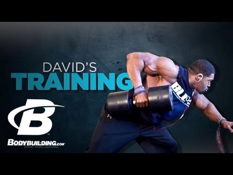 bodybuilding - Get David Otunga's full program here: http://bbcom.me/12e5CpH One little compliment changed his life. Find out how David Otunga transformed from a chubby ner...