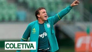 Coletiva do técnico Cuca após a vitória do Palmeiras sobre o Coritiba por 2 x 1, no Allianz Parque, pelo segundo turno do...