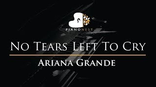 Video Ariana Grande - No Tears Left To Cry - Piano Karaoke / Sing Along / Cover with Lyrics download in MP3, 3GP, MP4, WEBM, AVI, FLV January 2017