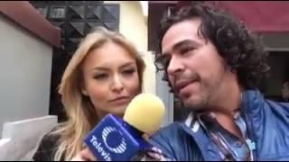 #FeceLive #TelevisaTVmx Entrevista en exclusiva con Angelique Boyer  y #robe