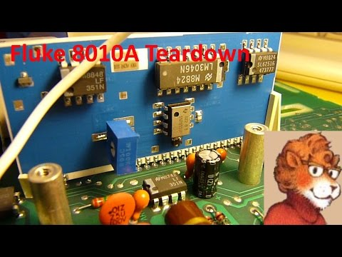 Fluke 8010A Teardown