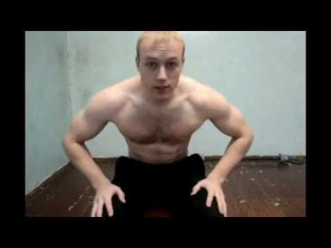 Как накачать грудь тренировки