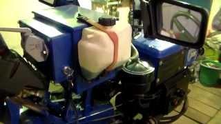 Минитрактор. Расширительный бачок на двигатель  R195