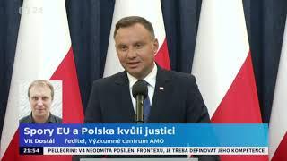 Spor EU a Polska kvůli justici