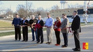 Pittsburg (KS) United States  City new picture : REACTION: Quincy Street Ribbon Cutting - Pittsburg, KS
