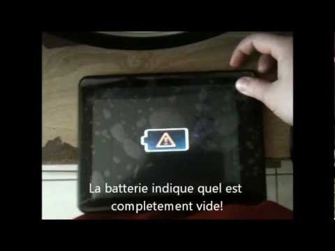 comment reparer tablette android