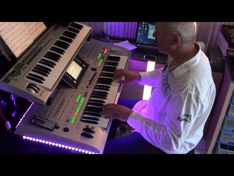 Video In Dulci Jubilo -  Mike Oldfield - COVER on TYROS 3 download in MP3, 3GP, MP4, WEBM, AVI, FLV February 2017