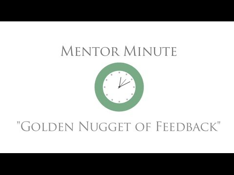 Mentor Minute - \