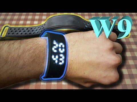 W9 SmartWatch - pedometer. Waterproof Bracelet
