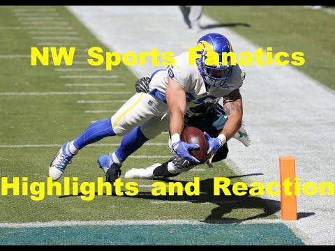 Rams vs. Eagles Reaction Week 2 Highlights | NFL 2020
