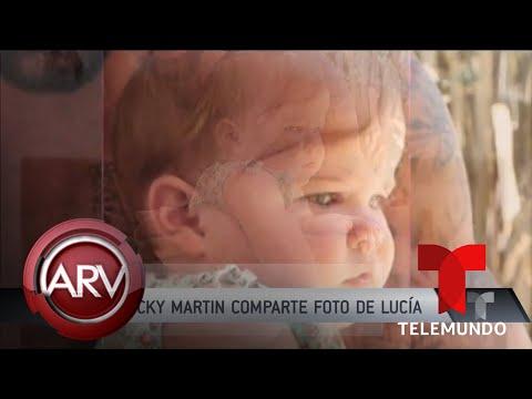 Imagenes para enamorar - Famosos ARV: Ricky Martin nos enamora con fotos de su linda hijita y más  Al Rojo Vivo  Telemundo