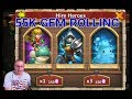 Castle Clash 55K Gem Rolling Hero Collector
