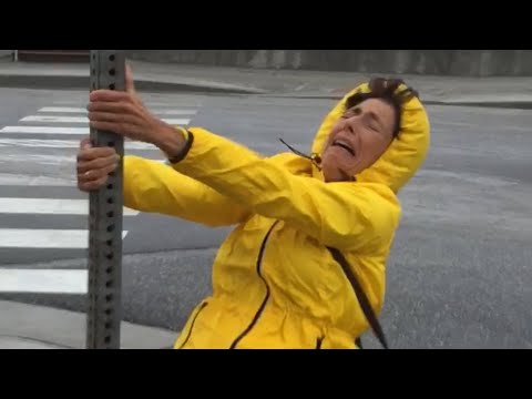 Weird and Funny Weather Fails from Compilation