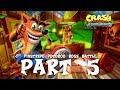 Crash Bandicoot N Sane Trilogy Wathrough | Part 5 - Pinstripe Potoroo Boss Battle