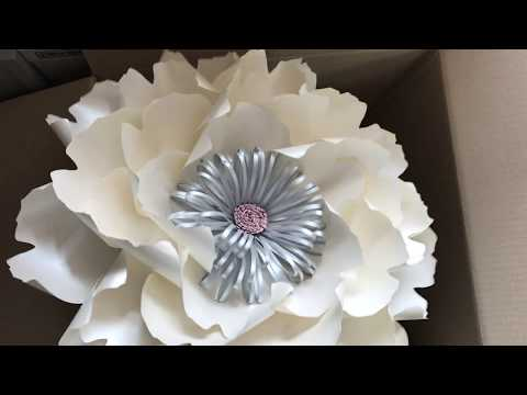 How to pack paper flowers / DIY paper flowers / paper flowers business / how to make paper fowers