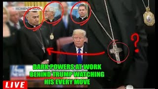 Video Very Frightening & Disturbing... these 3 MEN IN BLACK with TRUMP are much DARKER than we think! MP3, 3GP, MP4, WEBM, AVI, FLV Februari 2019