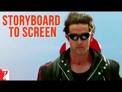 Storyboard to Screen - Dhoom:2 | Hrithik Roshan
