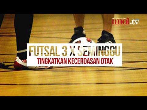 Futsal 3 X Seminggu Tingkatkan Kecerdasan Otak