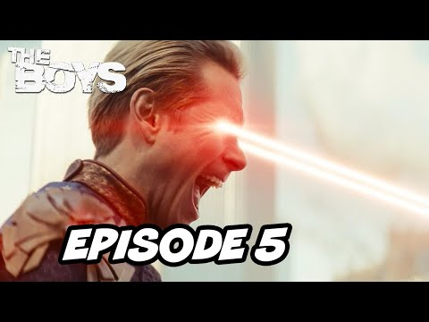 The Boys Season 2 Episode 5 Homelander Stormfront TOP 10 WTF and Easter Eggs