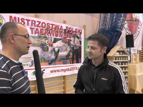 Mistrzostwa Polski Taekwon-Do Kłobuck 2015 – wywiad z Jarosławem Suską