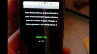 Pocket Translator YouTube video