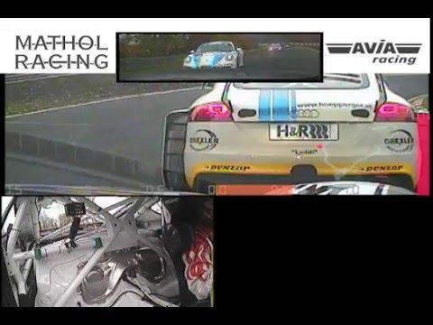 VLN onboard Porsche Cayman S vs. 991 (видео)