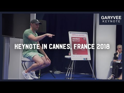 Surprise! Your TV Is Dead | Keynote With Young Creatives In Cannes, France 2018