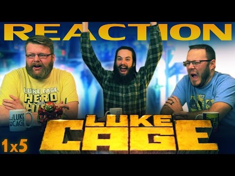 "Luke Cage 1x5 REACTION!! ""Just to Get a Rep"""