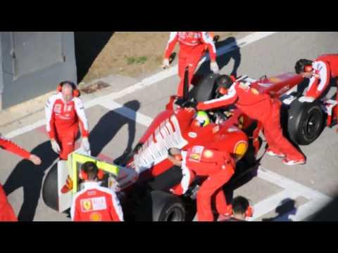 Las pruebas en el F2010