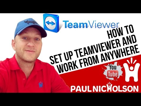 How To Quickly Setup Teamviewer For Remote Desktop Access - Beginners Tutorial 2017 - Team Viewer