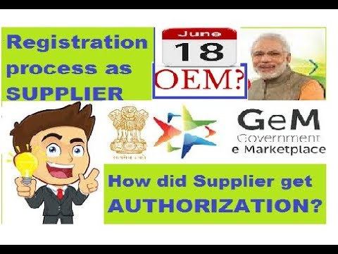 What is OEM? II Supplier ko kyse milega AUTHORIZATION LETTER II Gem 3.0 II (in Hindi)