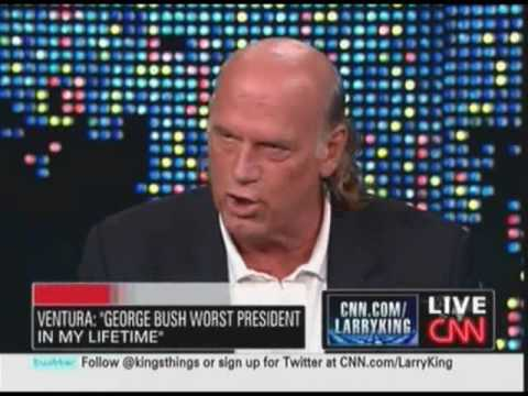 jesse - From Larry King Live May 11, 2009. http://videocafe.crooksandliars.com/heather/jesse-ventura-you-give-me-water-board-dick.