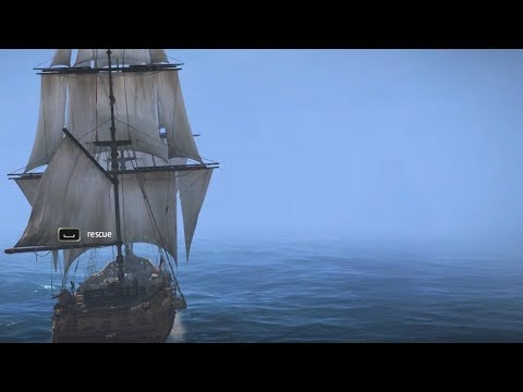 HOW BIG IS THE MAP in Assassins Creed IV: Black Flag? Sail Across the Map_Vitorlázás videók