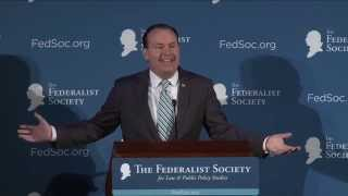 Click to play: Senator Mike Lee's Opening Remarks at the 2015 National Lawyers Convention - Event Audio/Video