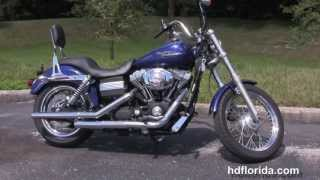 6. Used 2006 Harley Davidson Dyna Street Bob Motorcycle for sale