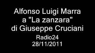 .Marra ospite a La zanzara di Giuseppe Cruciani .