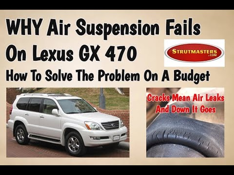 How To Repair Air Suspension On Lexus GX 470 2003-2009