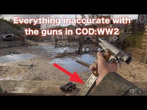 Everything I Can Find Wrong With The Guns Of Cod:ww2