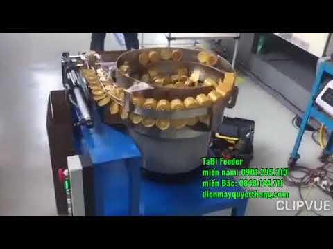 Nồi rung cấp nắp tương | Part feeder for Caps plastic