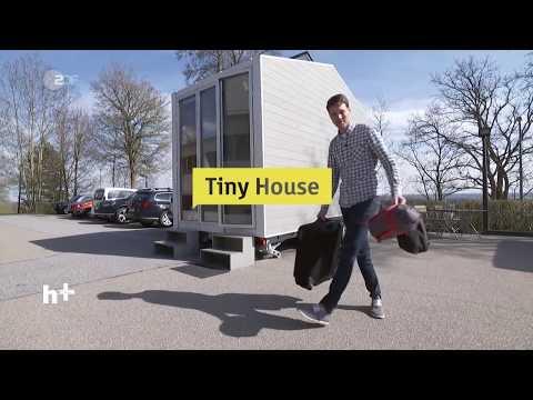 Ein ganzes Haus auf nur 9 m² - im Tiny House / heut ...