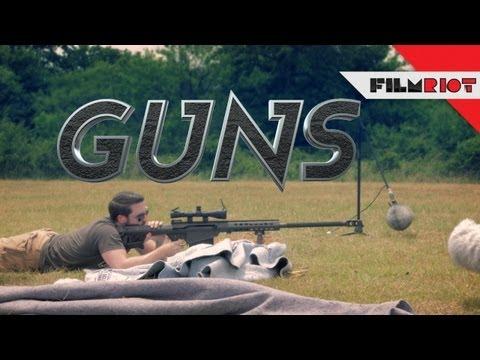 Recording Gun Sounds!