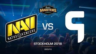 Na`Vi vs. Ghost - DH MASTERS Stockholm - de_dust2 [CrystalMay, SSW]