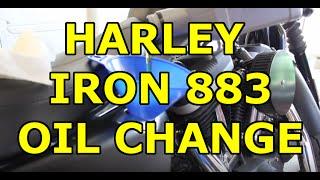 9. Harley Davidson Iron 883 Sportster - Easy DIY Oil Change