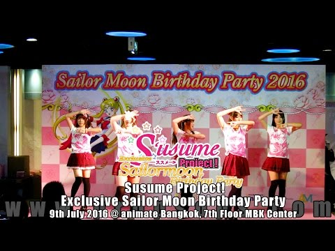 Exclusive Sailor Moon Birthday Party | Susume Project! Cover Dance Show